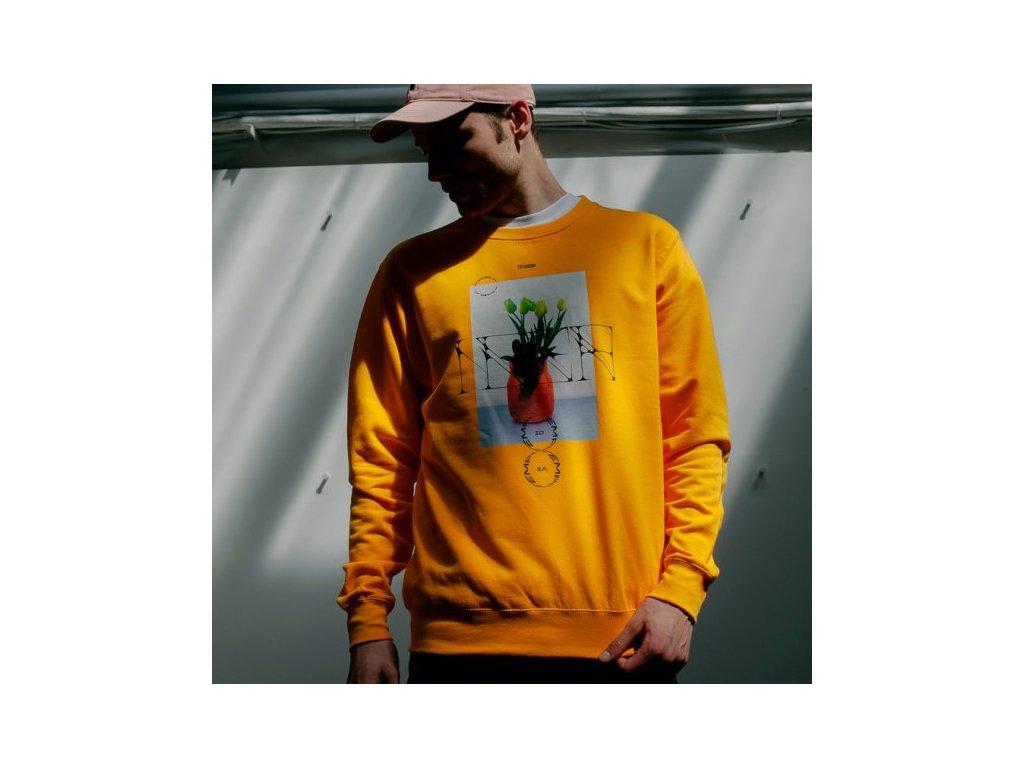 IDEA - TEMPO CREWNECK yellow