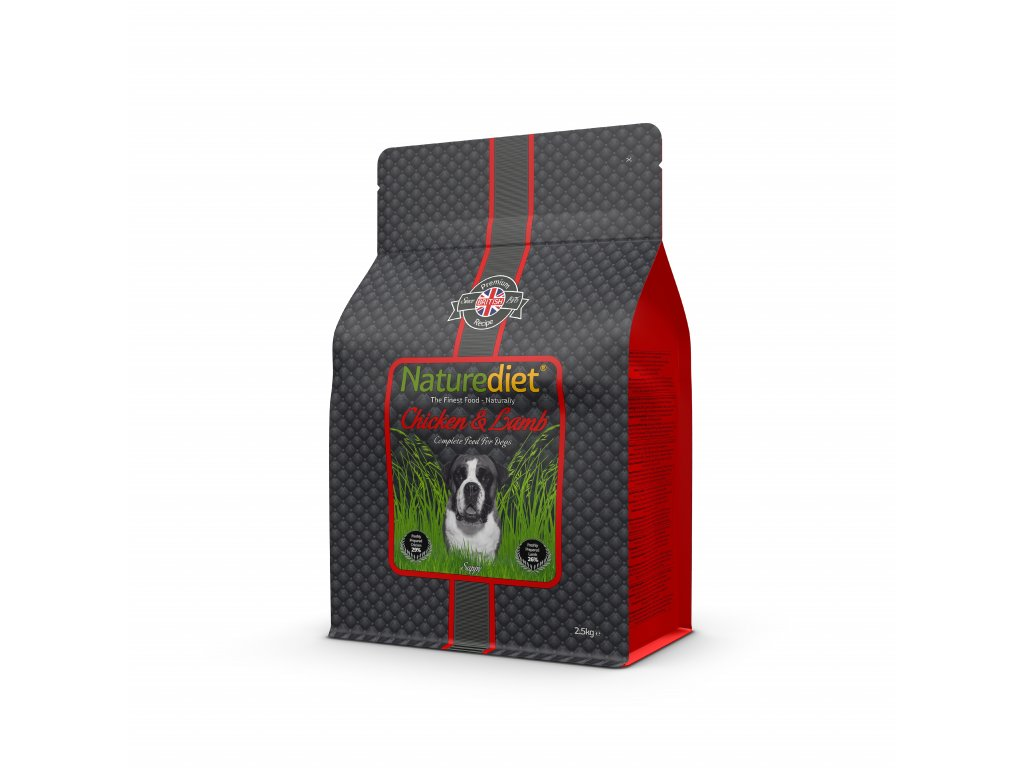 NatureDiet Chicken Lamb 2.5kg