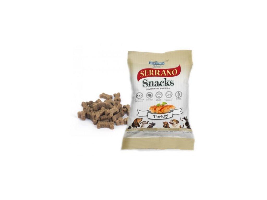 serrano snack for dog turkey 100 g meditky treninkove kosticky 500x500