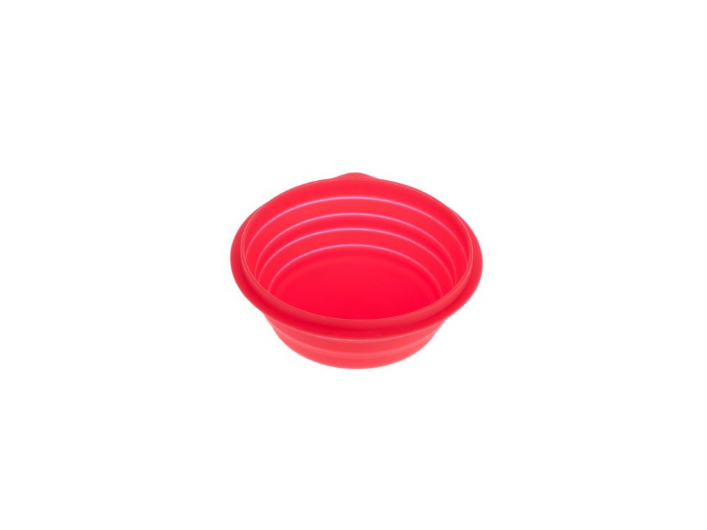 Cestovní silikonová miska skládací  0,5 l/14 cm