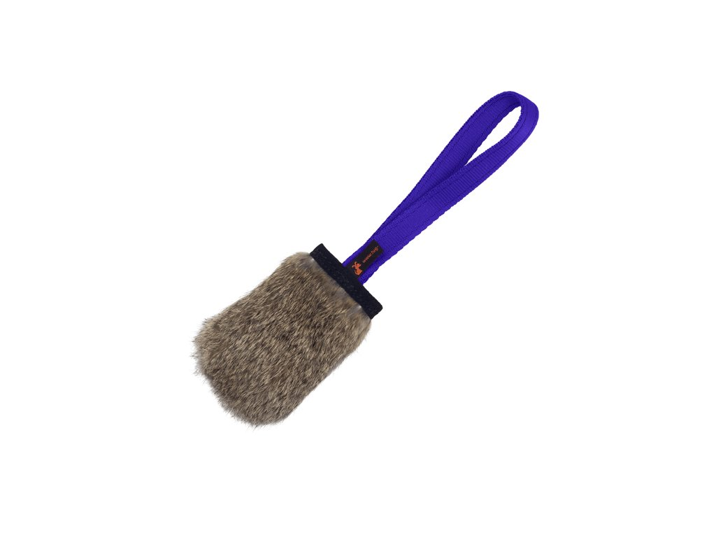 Rabbit Skin Pocket Squeaker Purple Handle x700