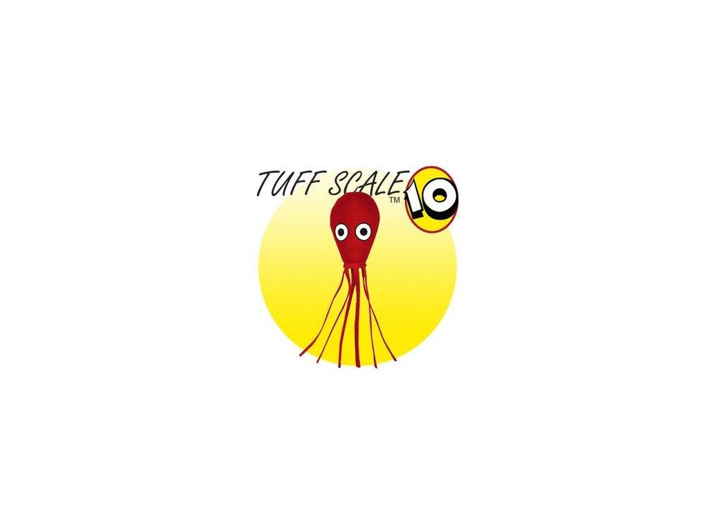 tuffy ocean creature mega squid red