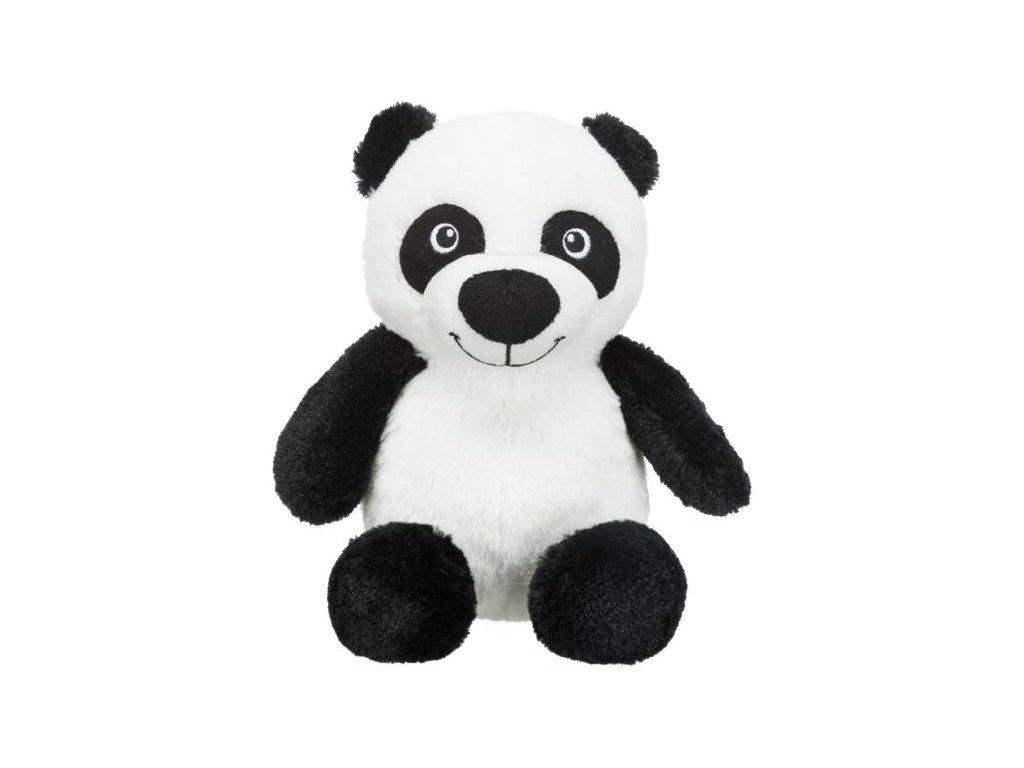 panda plysova hracka pro psy se zvukem 26cm