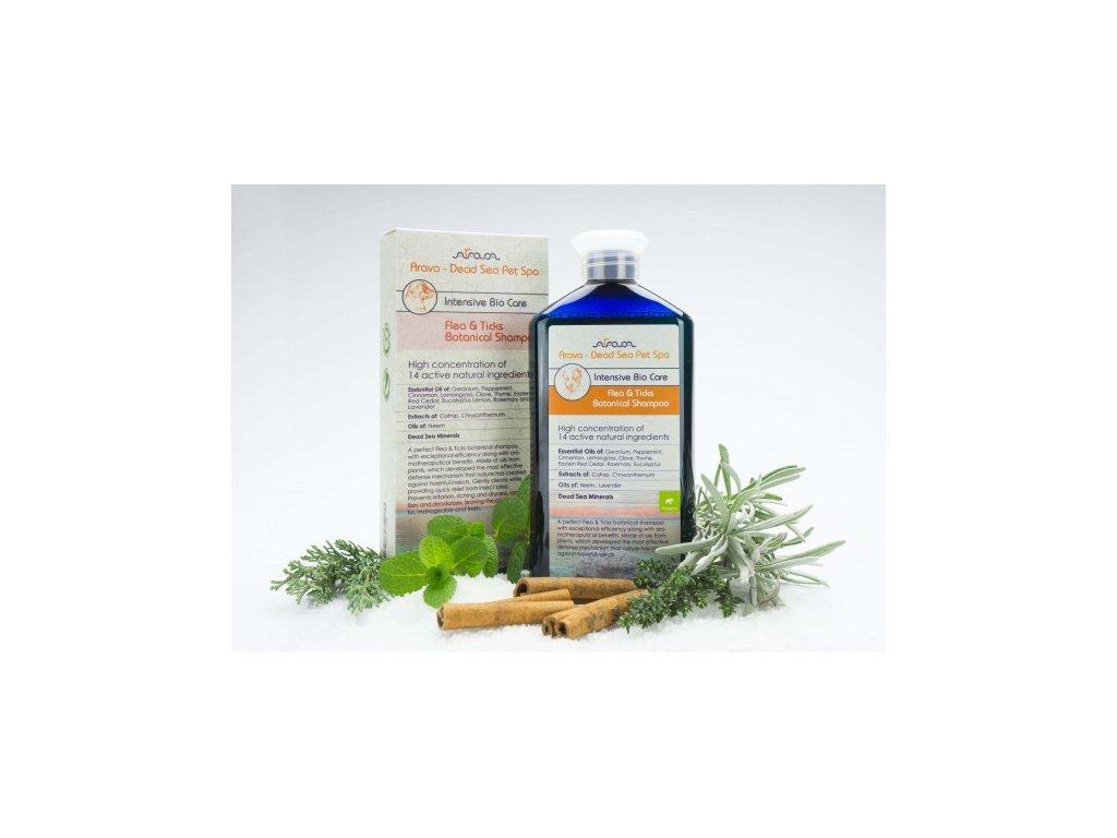 bylinny antiparazitni sampon pro stenata arava 400 ml