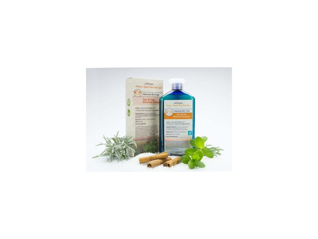 byllinny antiparazitni sampon pro dospele psy arava 400 ml