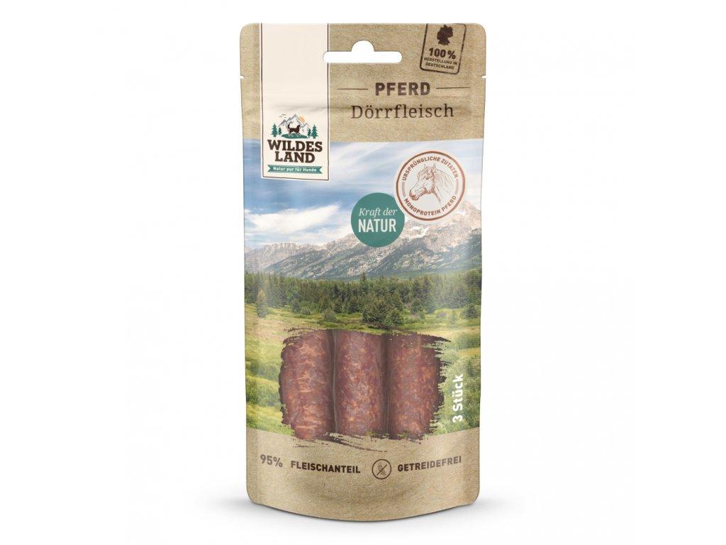 wl509946 wildesland snacks hund pferd d rrfleisch 3stk front 4250839509946 1000px shd