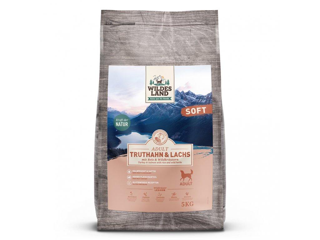 wl514988 wildesland softfutter hund truthahn lachs front 5kg 4250839514988 1000px shd