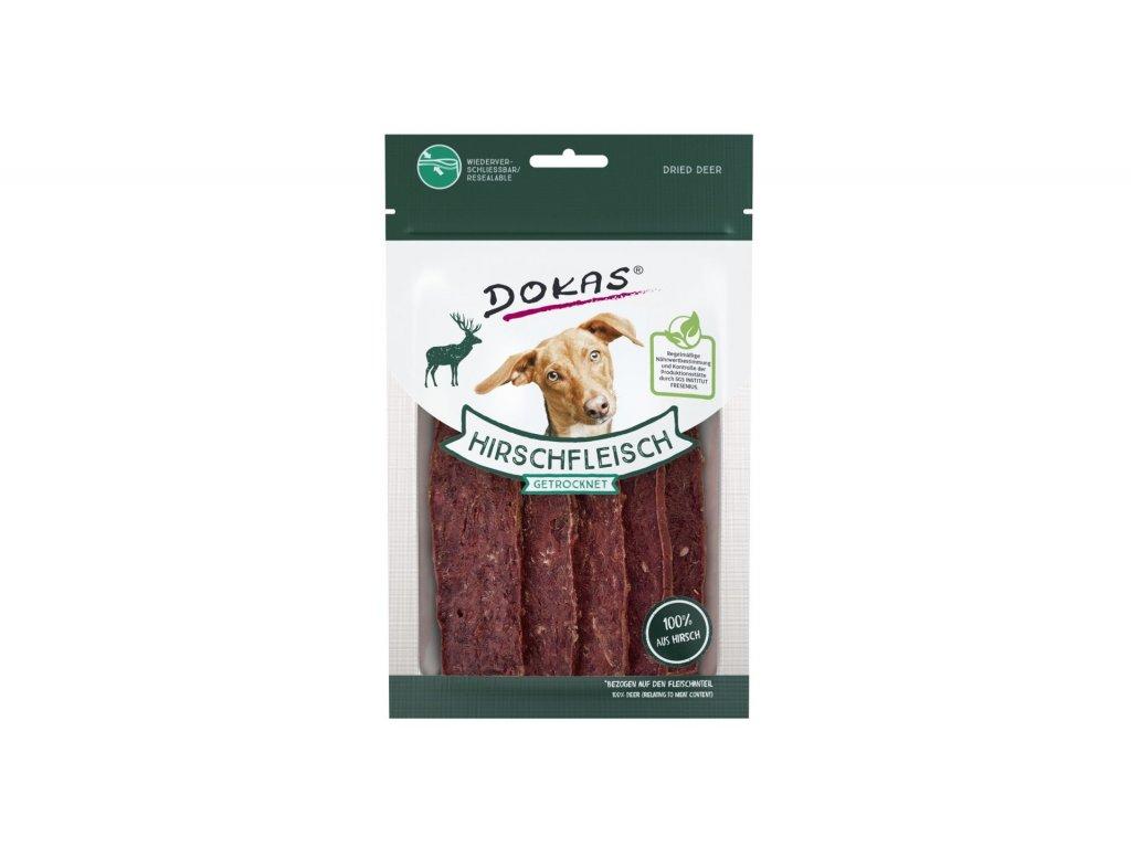 Dokas - Jelení maso plátky 60 g