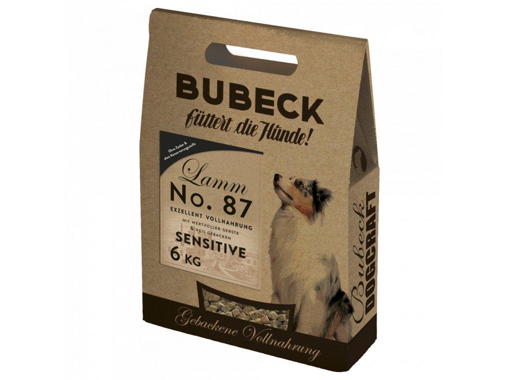 bubeck trockenfutter no 87 sensitiv lammfleisch weizenfrei 6kg 2
