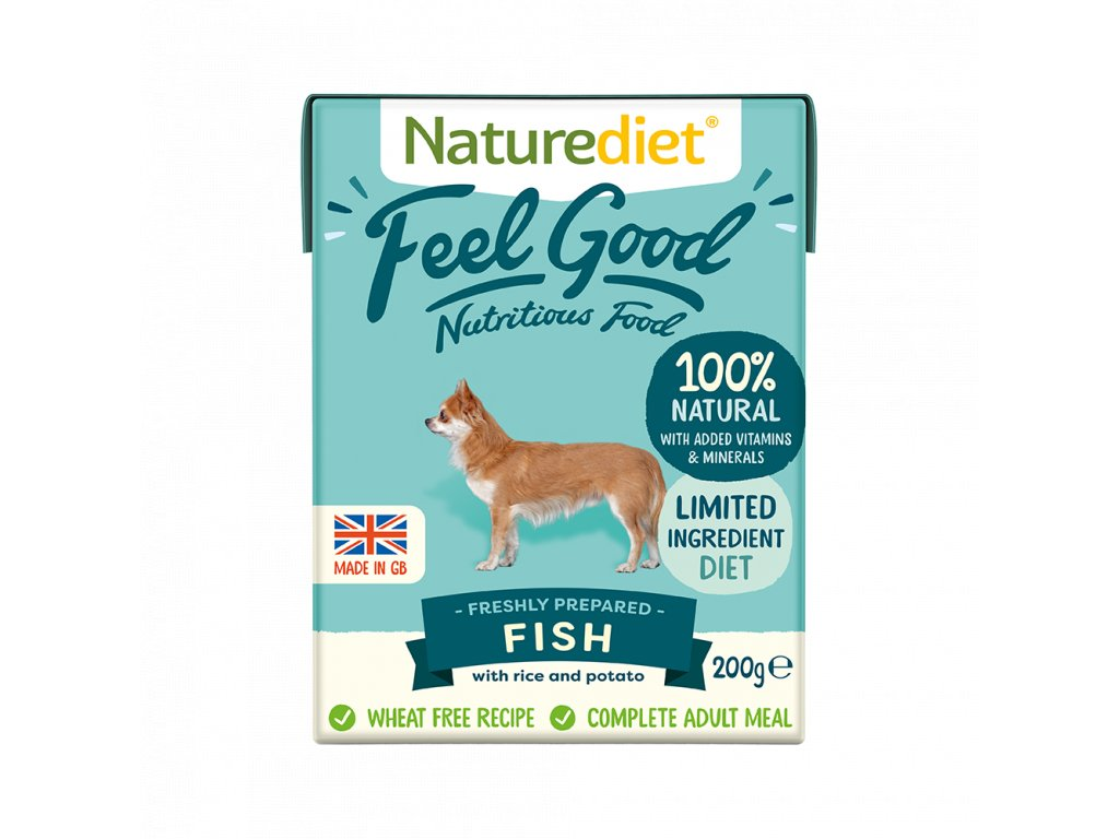 W2754 Naturediet 200g Tetra Pak Fish Face On 1000x1000px
