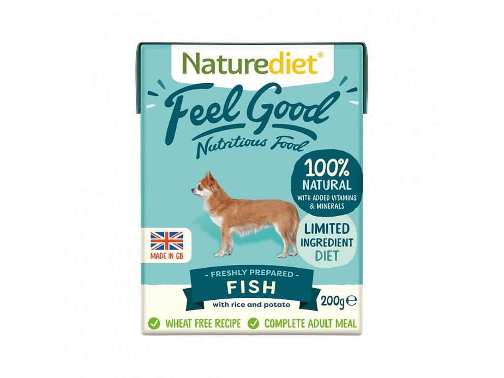 W2754 Naturediet 200g Tetra Pak Fish Face On 1000x1000px