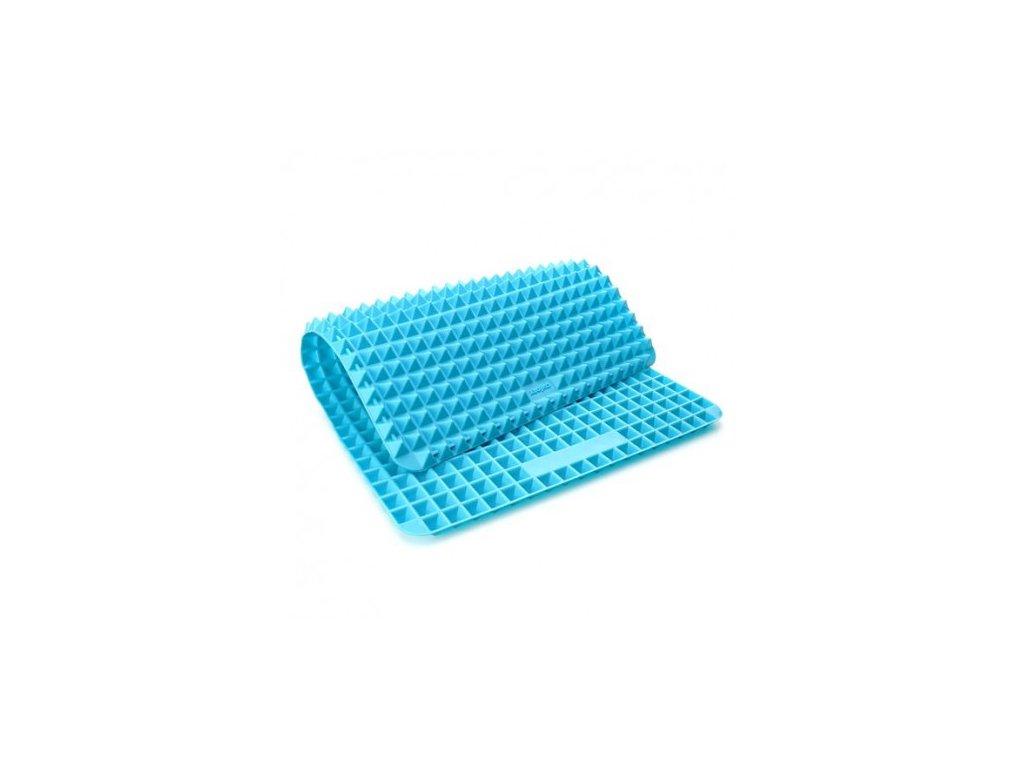 silikonova pecici formicka na pamlsky collory pyramidy 18 cm tyrkysova