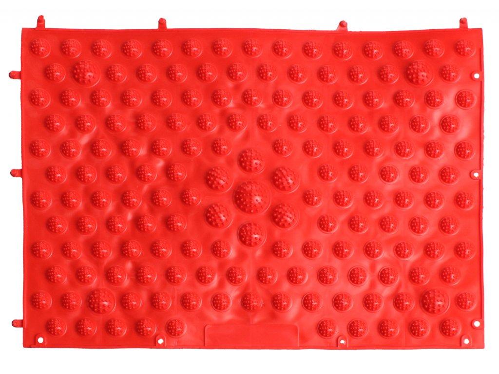 Foot Massage JR masážní koberec - červená