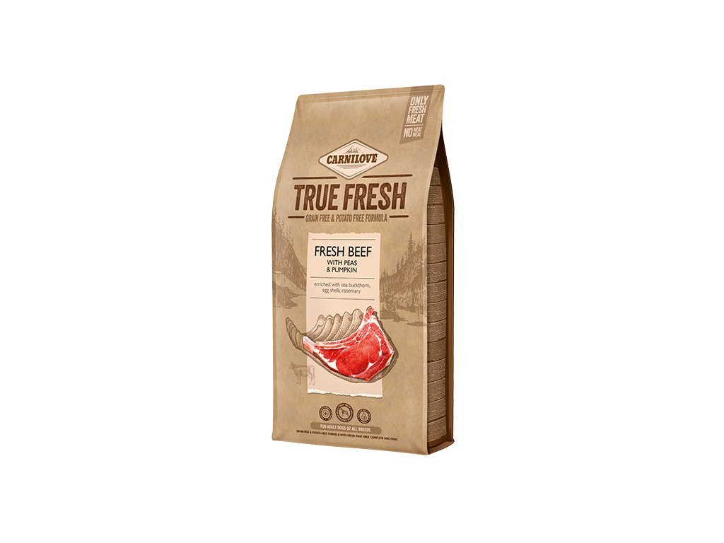 40779 1 carnilove true fresh beef for adult dogs 11 4 kg
