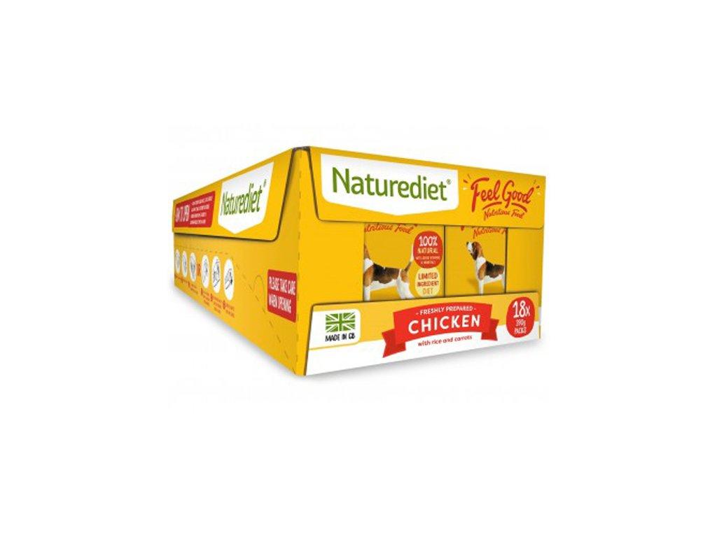 Feel Good Dog Food Chicken 390g 18