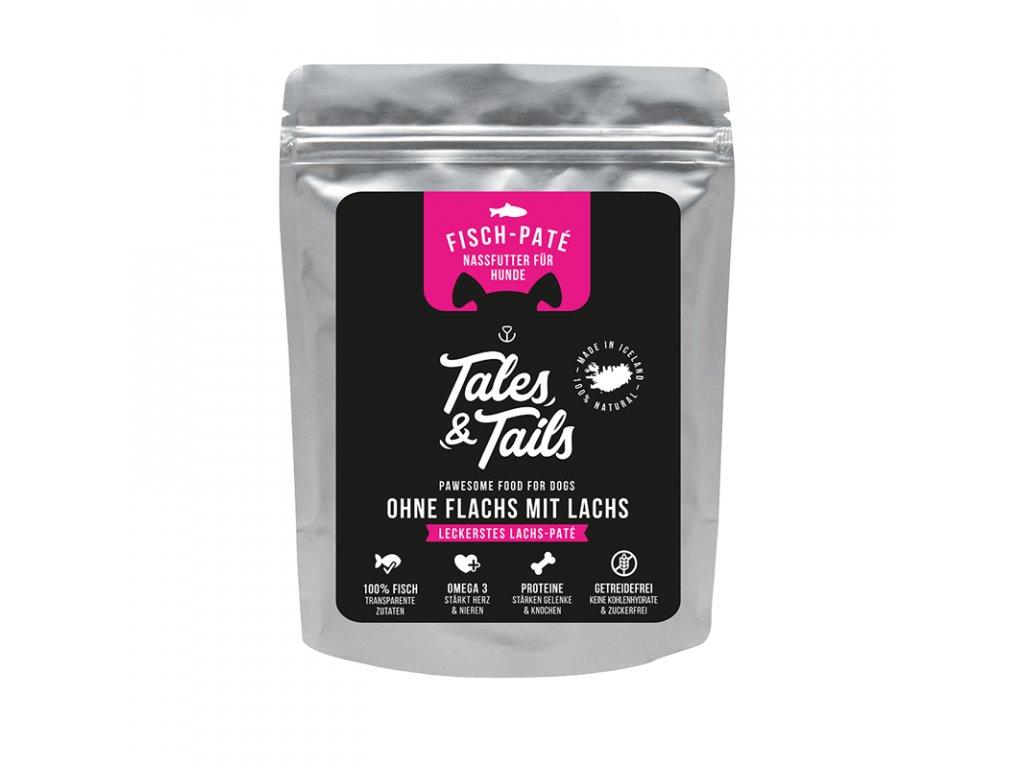 Tales Tails Nassfutter Ohne Flachs mit Lachs 300g 2048x2048