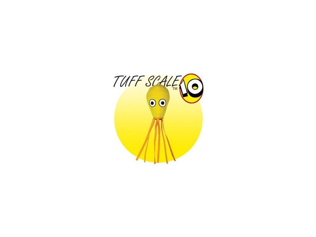 žlutá chobotnice
