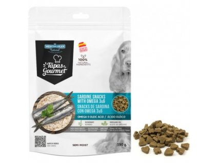 tapas gourmet snack for dog sardine with omega 3a6 500x500