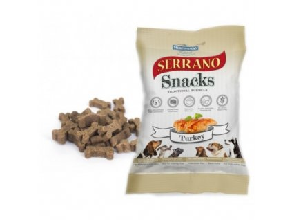 serrano snack for dog turkey 100 g meditky treninkove kosticky 500x500