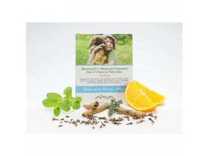 Bylinné antiparazitní pipety pro psy 0-9 kg