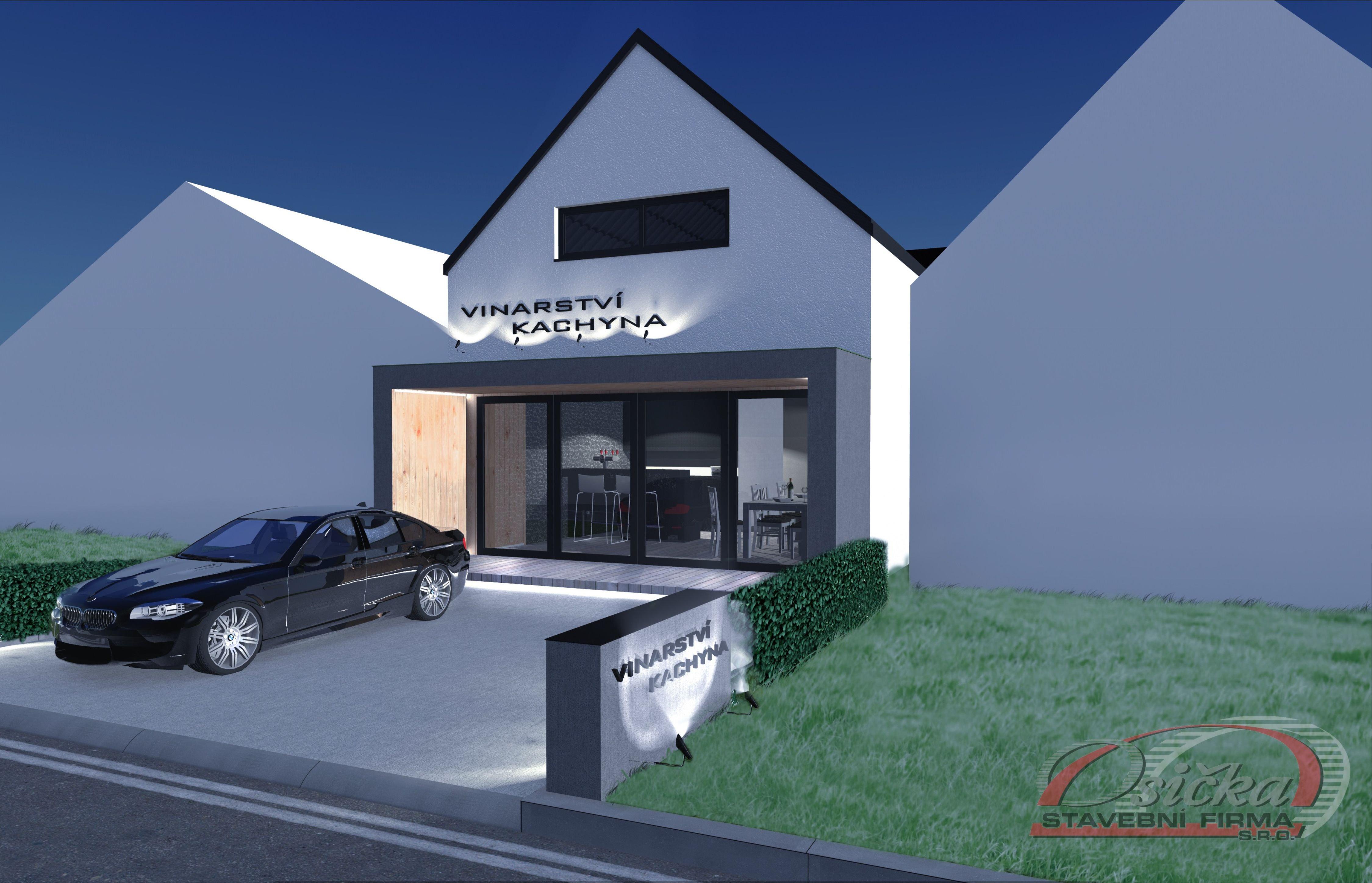 Vizualizace nový sklep