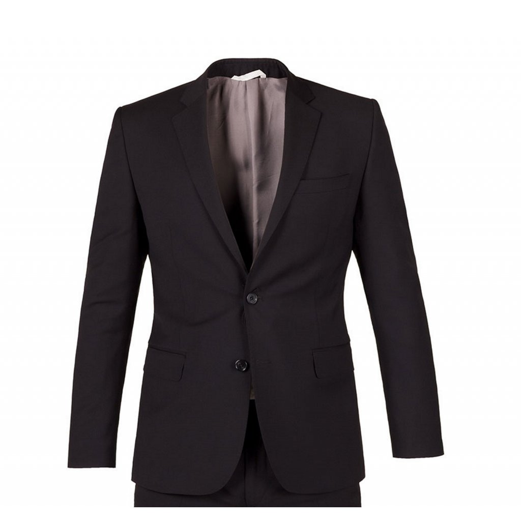 sako oblek marzotto ultra slim cerny