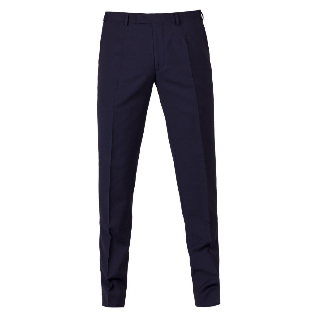panske kalhoty marzotto navy ultraslim