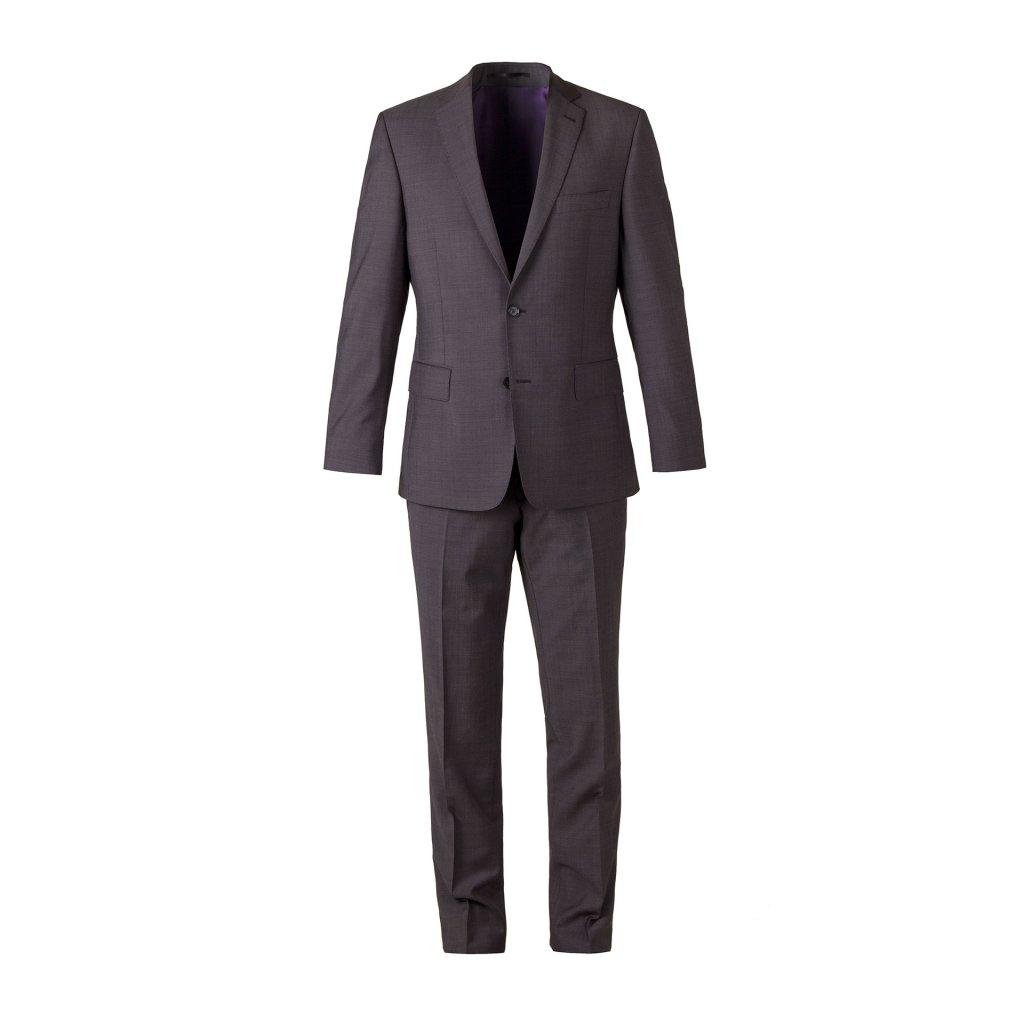 Pánský oblek MARZOTTO ŠEDÝ (Velikost 102)
