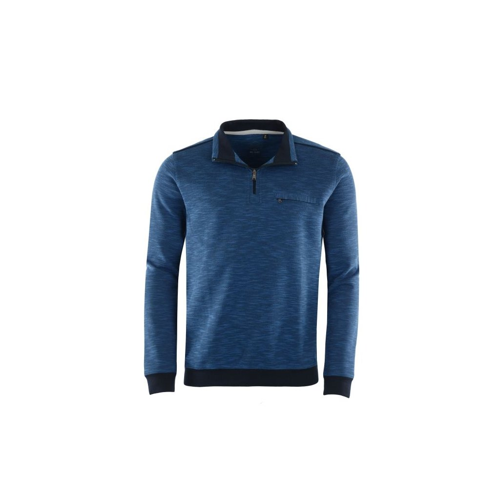 Pánská mikina 26753 (Velikost 50, Barva modrý melír)