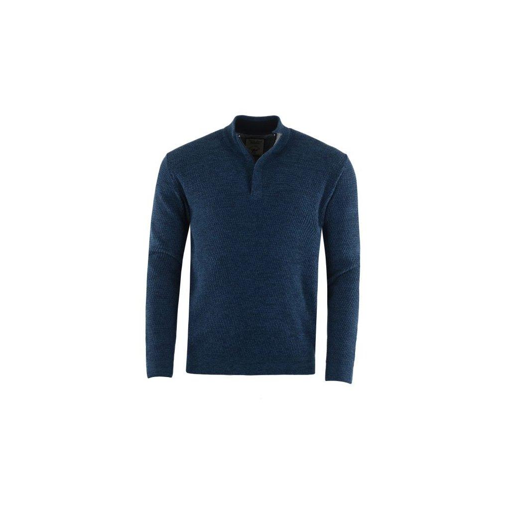 Pánský svetr 26771 (Barva modrá, Velikost 50)