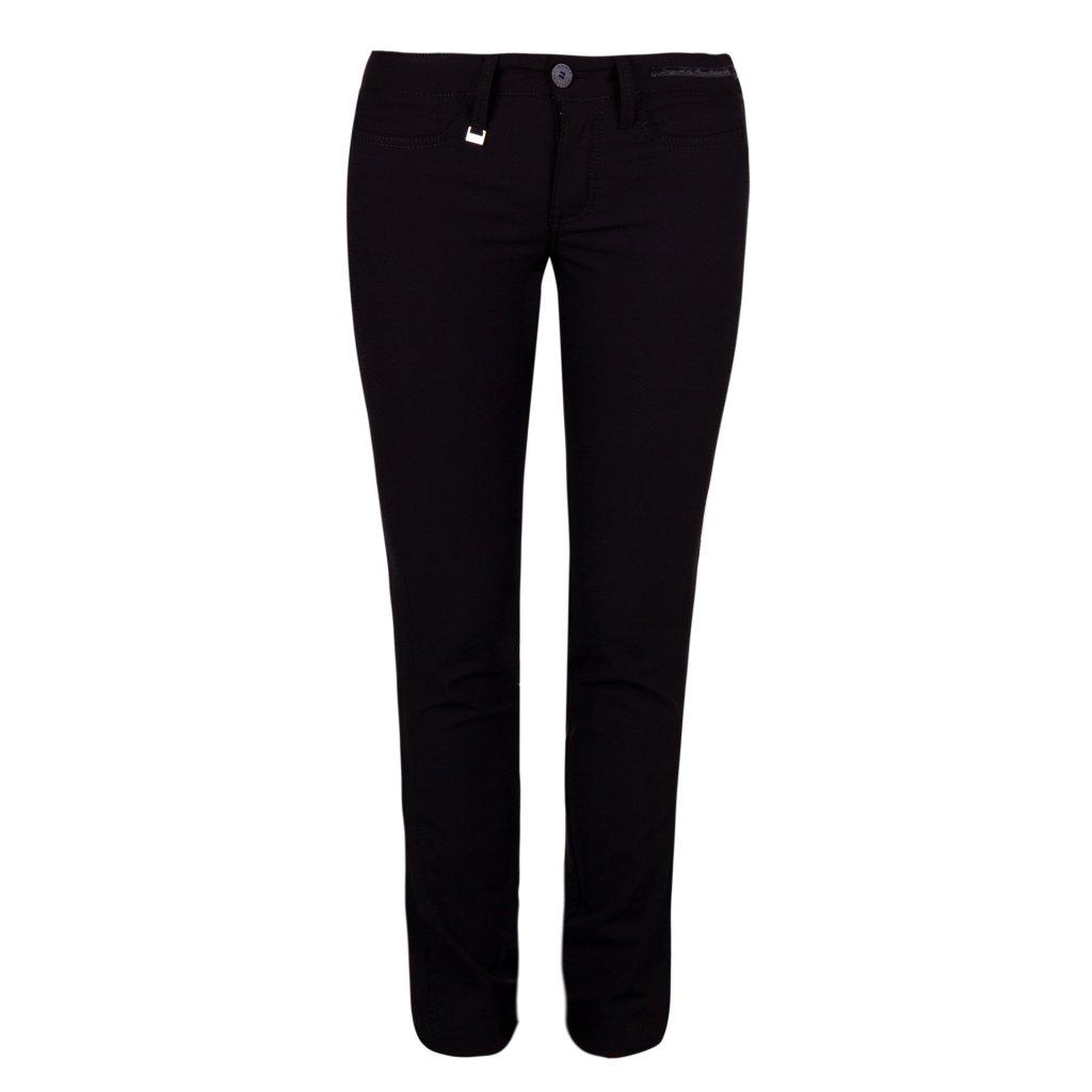 Dámské kalhoty JULIE crystal černé (Velikost 34)