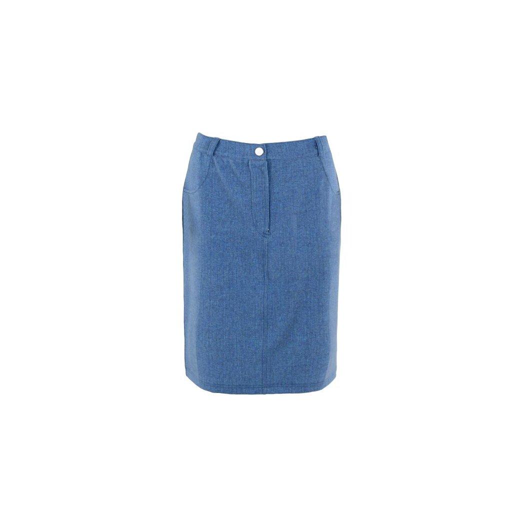 Dámská sukně v barvě denim