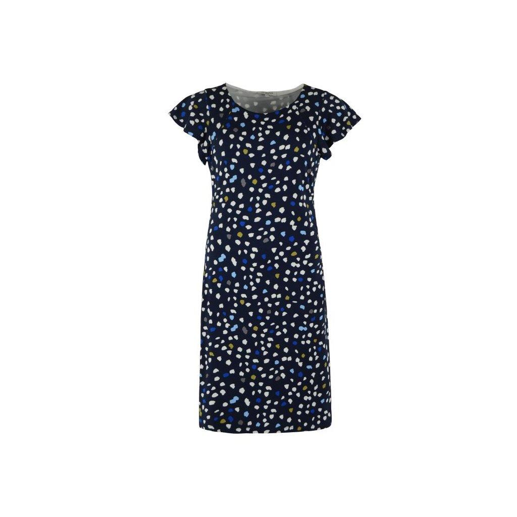 Dámské šaty s puntíky