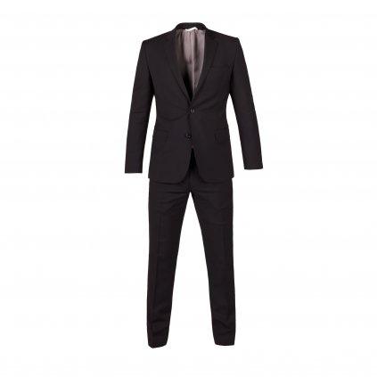 oblek marzotto ultra slim cerny