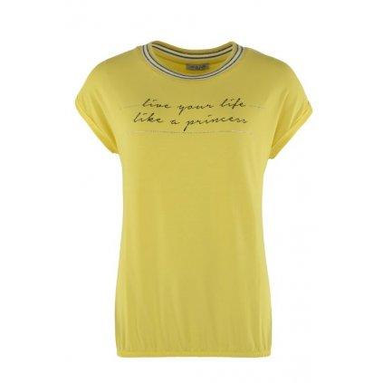 Dámské triko 18860 žluté (Velikost 38)