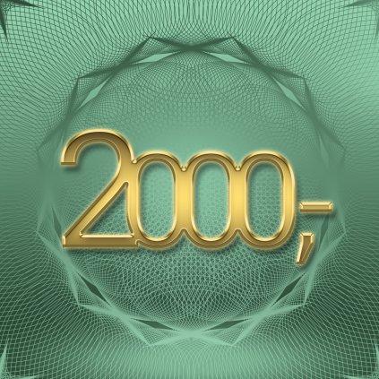 Dárkový poukaz v hodnotě 2 000 Kč (Způsob dodání Elektronicky - poslat e-mailem)