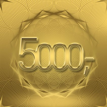 Dárkový poukaz v hodnotě 5 000 Kč (Způsob dodání Elektronicky - poslat e-mailem)