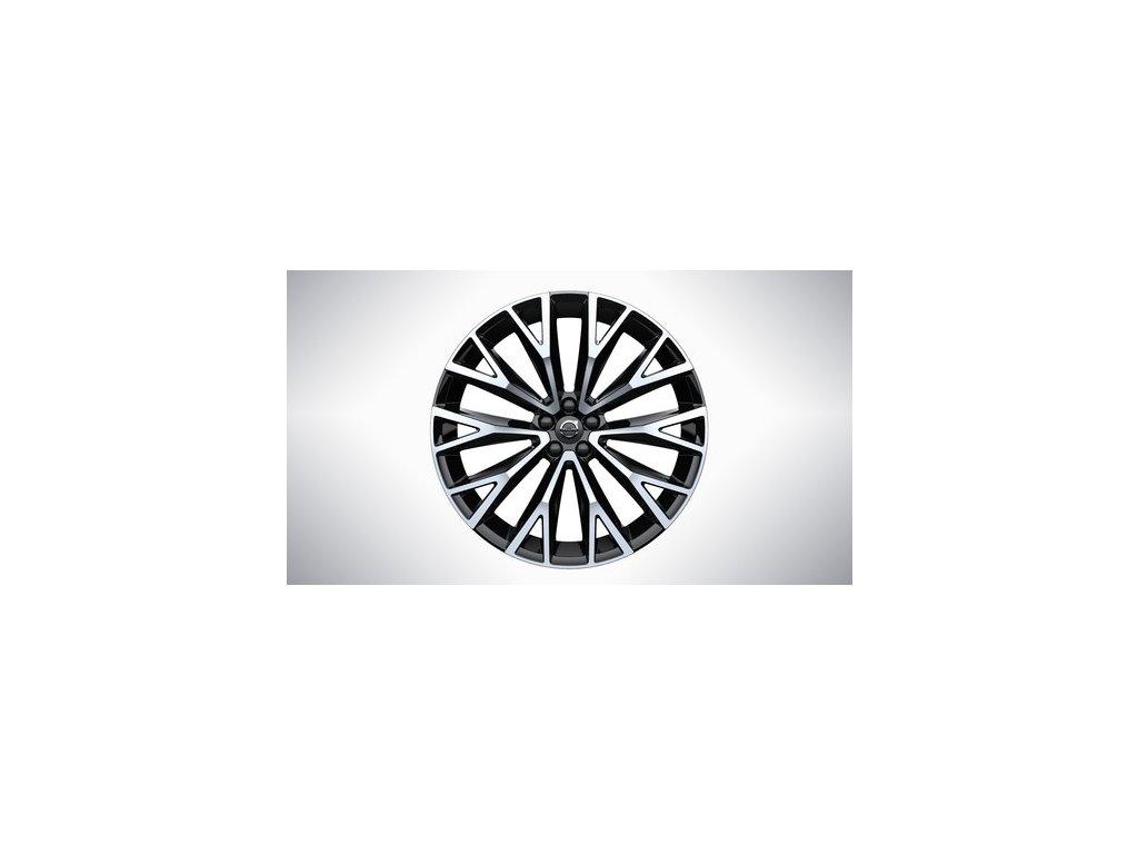 """Kompletní 22"""" zimní kola 10-Open Spoke Black Diamond Cut pro XC60"""