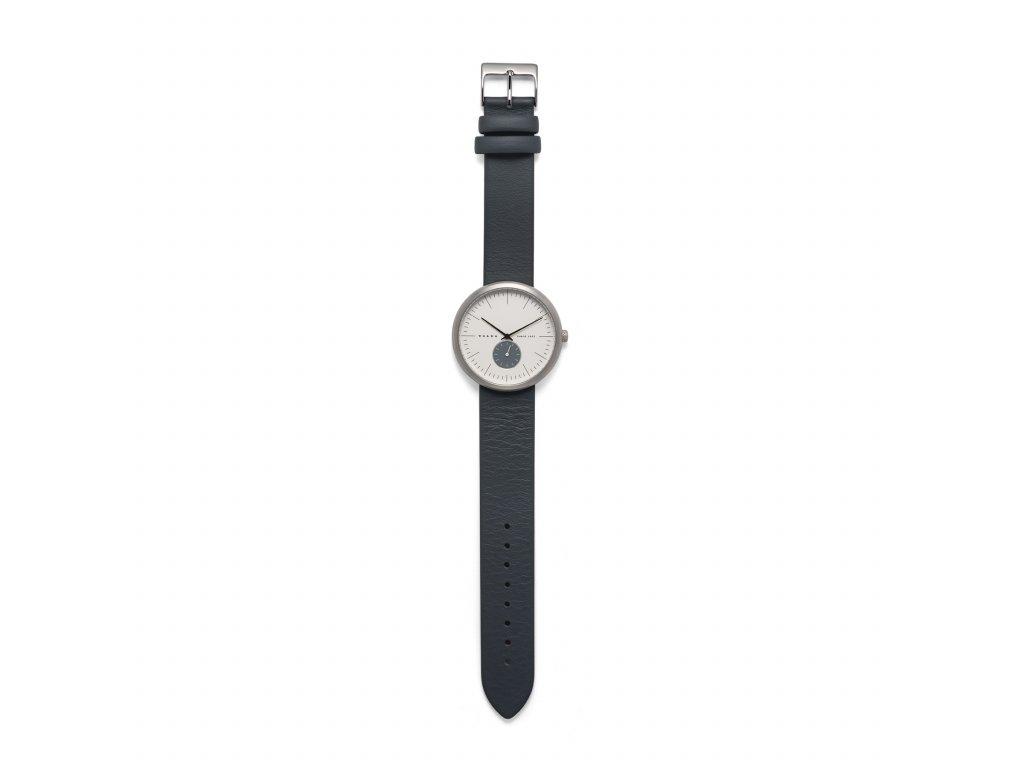 Černé hodinky Volvo
