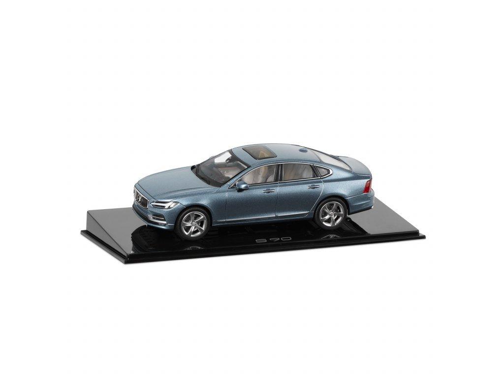 model S90 modra volvo