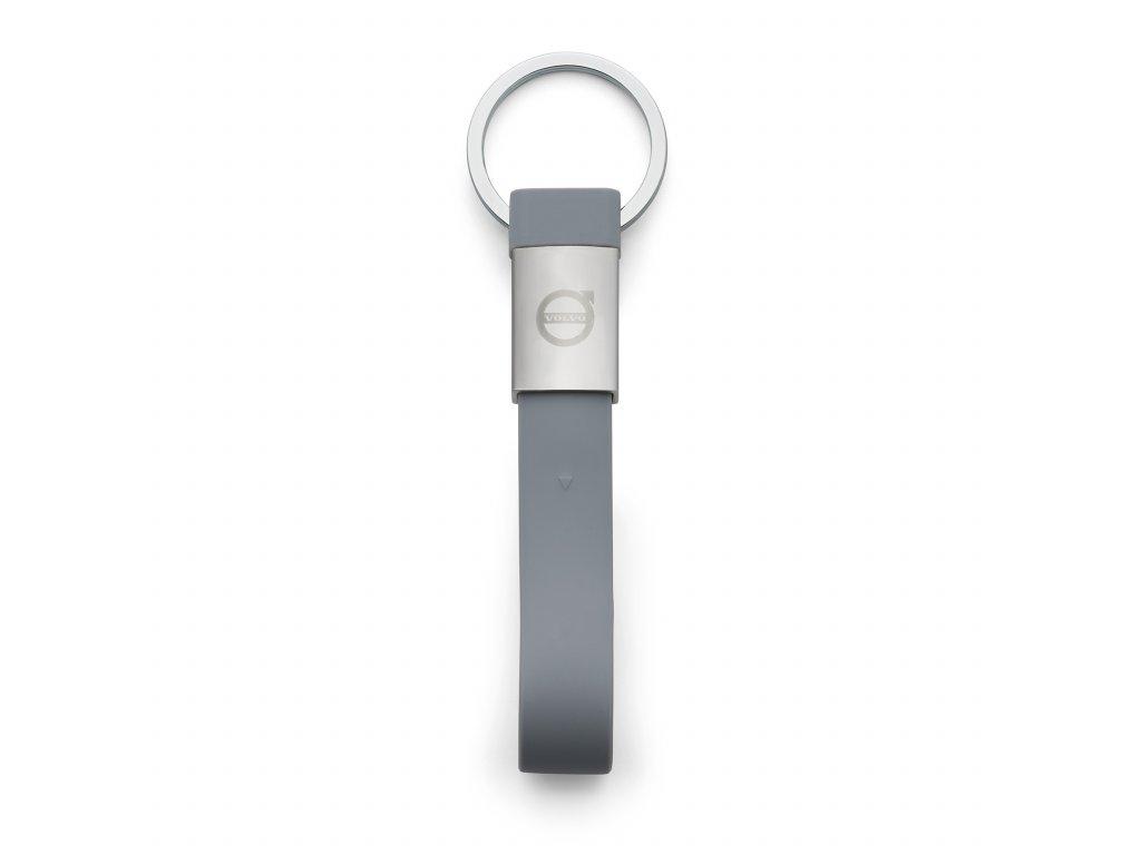 Gumová klíčenka s USB 32GB