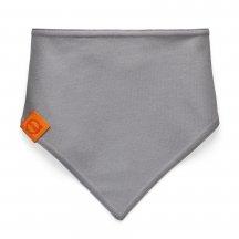 baby scarf grey