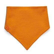 baby scarf orange