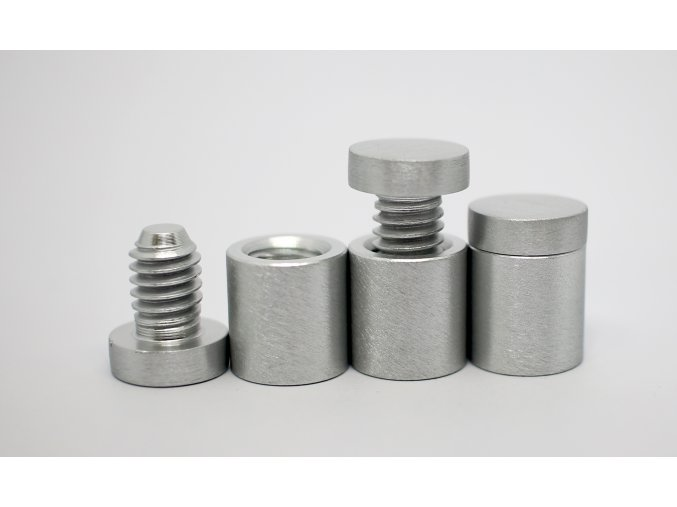 Distanční šroub hliník (kartáčovaný ) 13x13mm