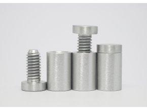 Distanční šroub hliník (kartáčovaný ) 13x19mm