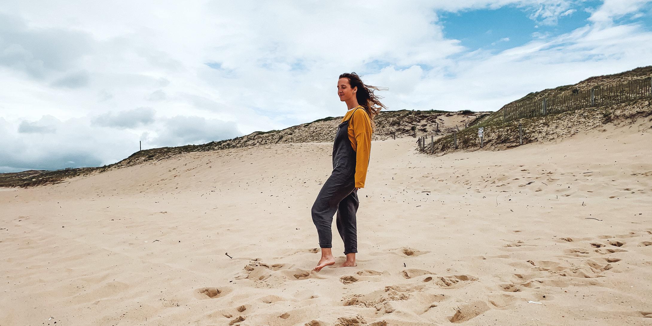 CALI JUMPSUIT LONG SOIL BEACH