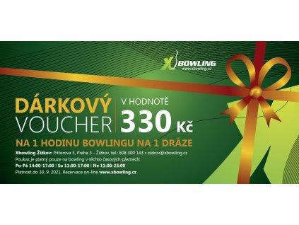 voucher centra final ZIZKOV 330