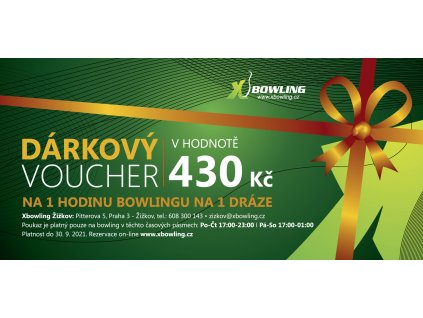 voucher centra final ZIZKOV 430