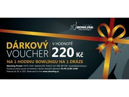 voucher centra final PROSEK 220