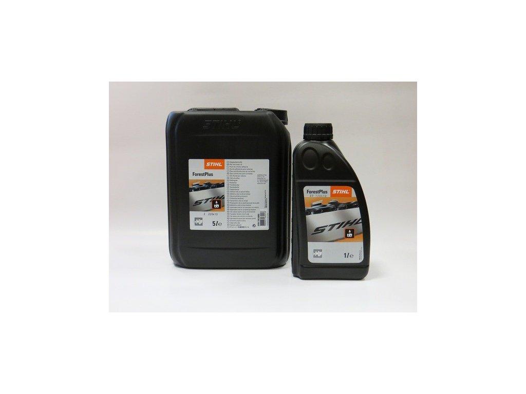 vyr 6093Adhezni olej na pilove retezy ForestPlus 1 litr STIHL 07815166001